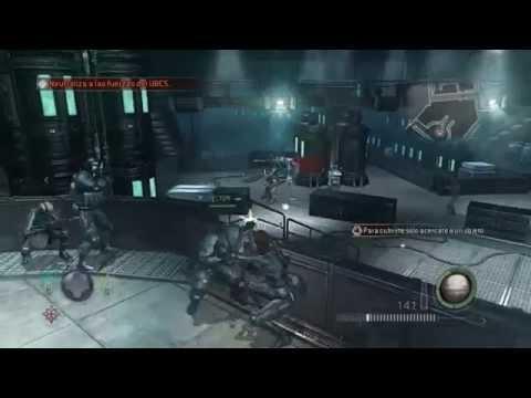 Resident Evil Operation Raccoon City guia VETERANO Mision 1 Contencion Rango S