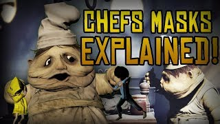 WHY DO THE CHEFS WEAR MASKS?! Little Nightmares Theory!