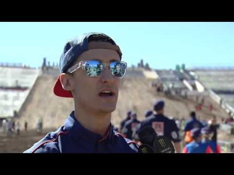 2016 Monster Energy Cup - Marvin Musquin Trackwalk Interview
