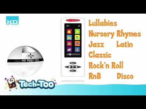 Toy MP3 Player and Docking Station For Toddlers from One Step Ahead
