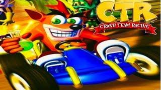 crash bandicoot racing in 720p