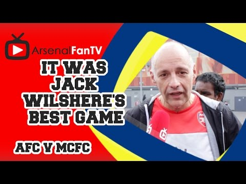 It Was Jack Wilshere's Best Game -  Arsenal 2 Manchester City 2