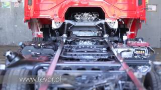 TEVOR S.A production factory RECOVERY TRUCK Abschleppwagen ЭВАКУАТОР