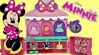Get Ready with Minnie Mouse Ultra Glamour Case, Closet Dress & Friends