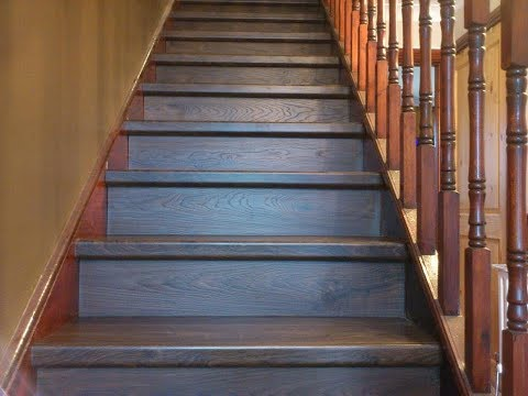 quick step elite old white oak dark planks qs ue1496 flooring on stairs youtube. Black Bedroom Furniture Sets. Home Design Ideas