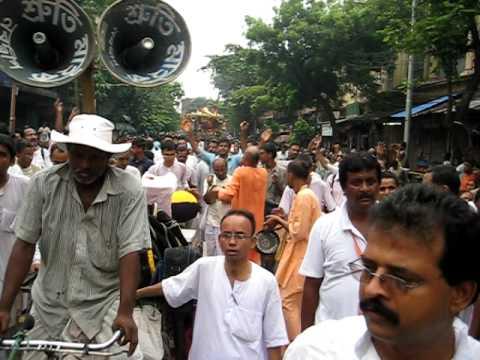 Iskcon rath yatra route in kolkata