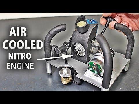 I Made A Mini Nitro Engine Generator