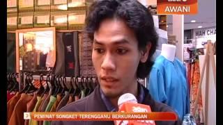 Peminat songket Terengganu berkurangan