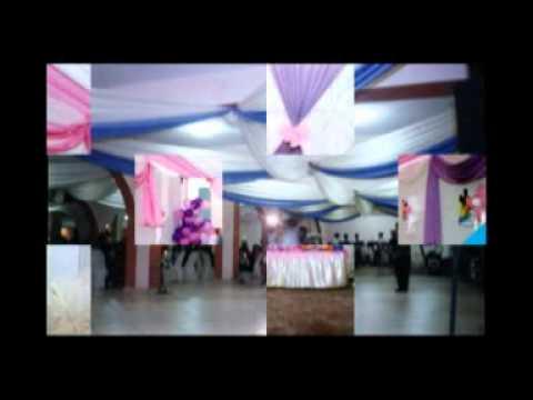 Curso decoraciones de toldos para eventos youtube for Disenos para el hogar decoracion