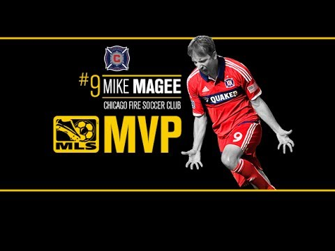 Mike Magee wins 2013 Volkswagen MLS MVP