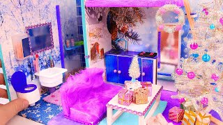 DIY Miniature Christmas Loft Dollhouse