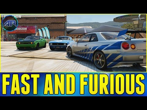 forza horizon 2 brothers reunited paul walker tribute. Black Bedroom Furniture Sets. Home Design Ideas