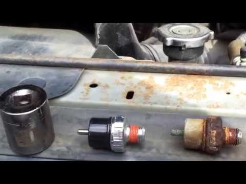 F350 5.8L oil pressure sending unit replacement