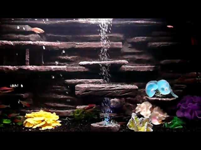 Как сделать водопад для аквариума своими руками