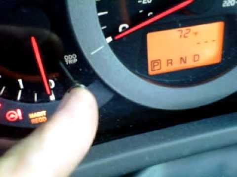 How To Reset Maintenance Light 2010 Toyota Rav4 Youtube