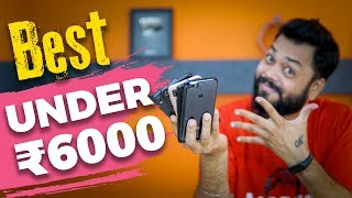 TOP 5 BEST PHONES UNDER 6000 in 2018 ⚡⚡⚡Sabse Acche Budget Phones