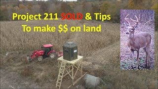 Project 211 Farm VLOG TIPS TO MAKE MONEY ON HUNTING LAND From Kapper