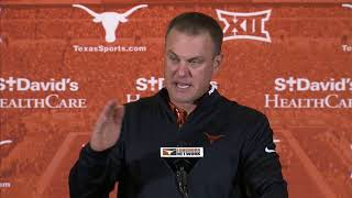Tom Herman press conference - Baylor week [Oct. 23, 2017]