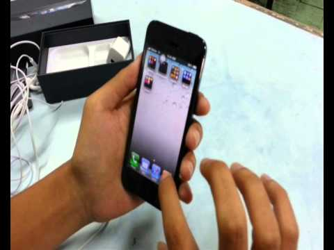 Apple iPhone 5 Unboxing FILIPINO STYLE