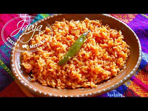 Arroz rojo mexicano receta for Cocina para cocinar