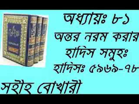 Bangla Waz Mahfil New Ontor Norom Korar Hadis Shomoho Bukhari Chapter-81 Part-02 video