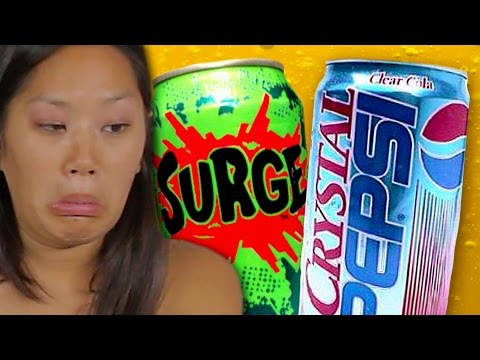 Discontinued Sodas Taste Test
