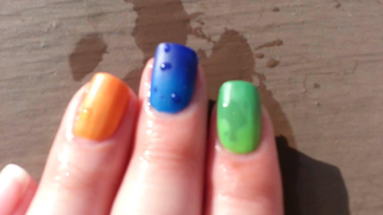 color change nail polish review