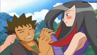 Pokemon Brock and Lucy Pokeshipping Moments