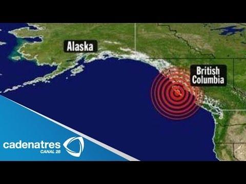 ¡¡IMPRESIONANTE!! Alerta de tsunami para Alaska tras sismo de 8.0 grados