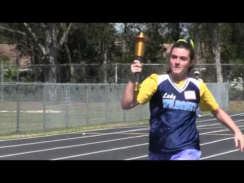 The Special Olympics at Wesley Chapel High School