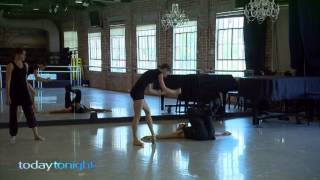 Today Tonight: an exclusive look at what it takes to be a ballet dancer