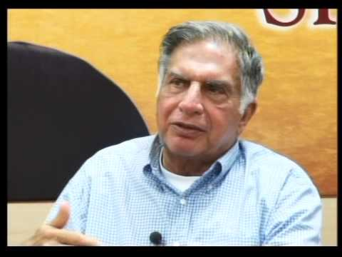 Leadership Lecture Series Interaction With Mr Ratan N. Tata Part # 3/4