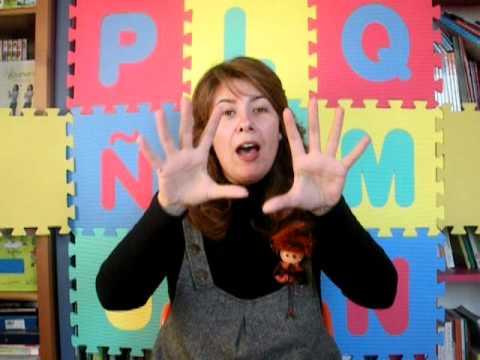 Canción de los días de la semana en Lengua de Signos
