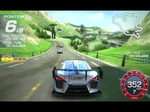 Ridge Racer - PS Vita - In-Game