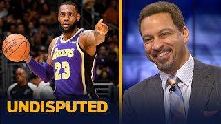 Chris Broussard calls LeBron's performance 'Michael Jordan-esque' against Spurs | NBA | UNDISPUTED