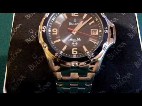 Bulova 98b111 marine star watch.