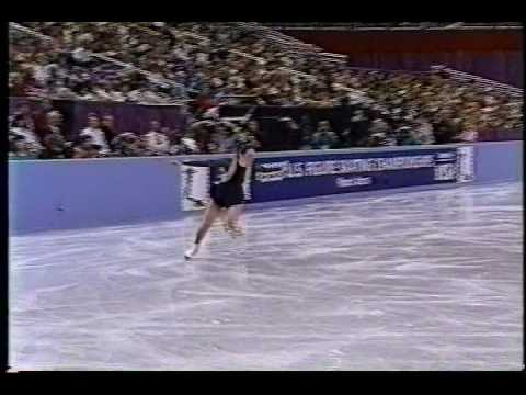 Nancy Kerrigan - 1993 US Figure Skating Championships, Ladies' Free Skate