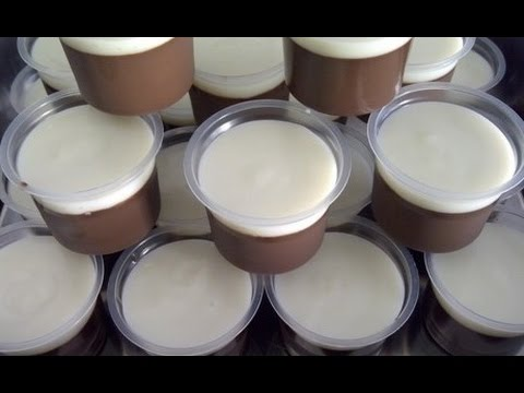 Resep Membuat Puding Coklat Fla