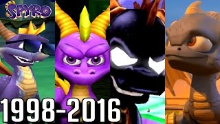 Spyro - ALL ENDINGS 1998-2016 (PS4-PS1, Wii U, Xbox, GC)