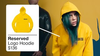 BILLIE EILISH OUTFITS IN BAD GUY [BILLIE EILISH CLOTHES]