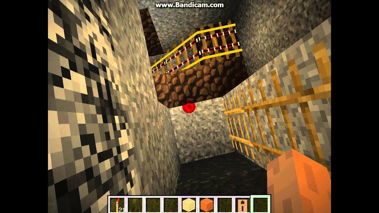 как построить шахту в Minecraft - YouTube