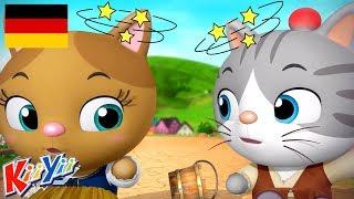 Jack und Jill 👫 | +weitere Kinderlieder | Deutsch | Cartoon | KiiYii