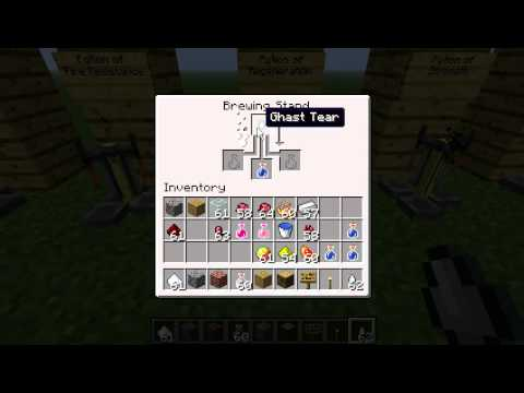 Minecraft All Potion Recipes and Ingredients