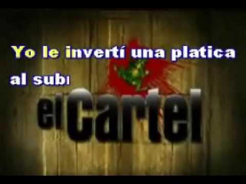 Karaoke Raton Y Queso El Cartel De Los Sapos video