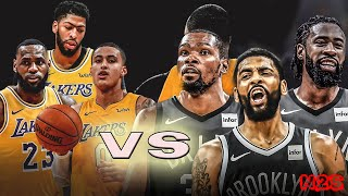 Los Angeles Lakers vs Brooklyn Nets - FULL GAME | NBA 2K20