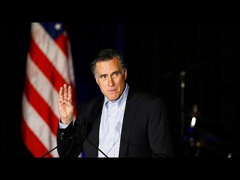 ميت رومني يعلن عدم ترشحه للرئاسة الامريكية في انتخابات 2016