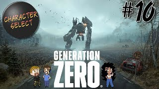 Generation Zero Part 10 - Important Experiments Are Conducted - CharacterSelect