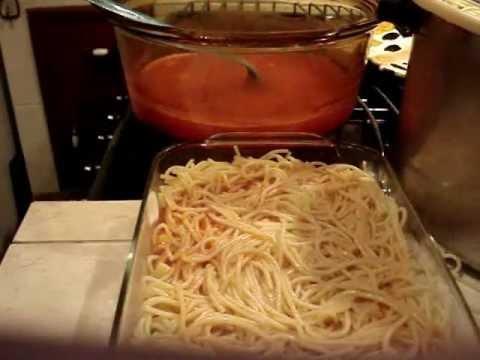Receta Prepara Esta  Sabrosa Pasta de Spaghetti