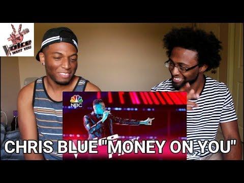 "The Voice 2017 Chris Blue - Finale: ""Money on You"" (REACTION)"