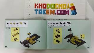 Hướng dẫn lắp ráp XingBao 03024 Lego City MOC Super Off-road Jeep giá sốc rẻ nhất